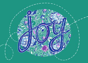 """Joy"" by Emily Kelly - Framed Print"