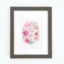 Load image into Gallery viewer, 'God is With You, Be Brave' by Emily Burger - Framed Print