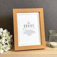 Load image into Gallery viewer, 'Be Brave' (Arrow) - Framed Print