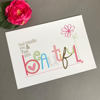 'Beautiful' by Emily Burger - Print