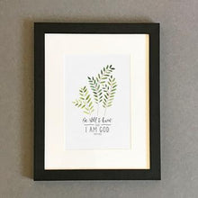 Load image into Gallery viewer, 'Be Still' (2017) by Emily Burger - Framed Print