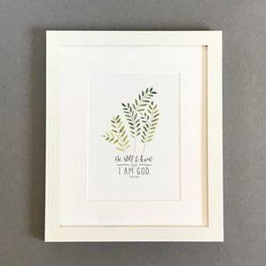 'Be Still' (2017) by Emily Burger - Framed Print