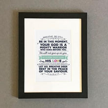 Load image into Gallery viewer, 'Breathe' by Emily Burger - Framed Print