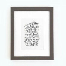 Load image into Gallery viewer, 'But those who hope' - Framed Print