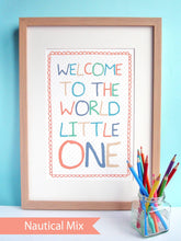 Load image into Gallery viewer, 'Welcome to the World Little One' Print