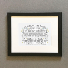 Load image into Gallery viewer, 'Faithfulness' by Emily Burger - Framed Print