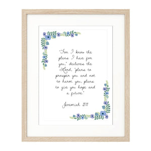 Personalised Prints - Garland style