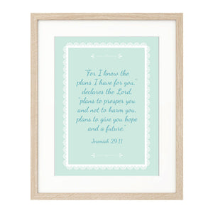 Personalised Prints - Lace style