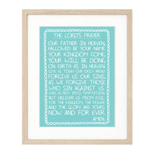 Load image into Gallery viewer, The Lord's Prayer print
