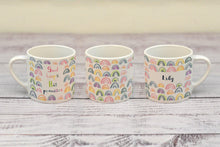"Load image into Gallery viewer, ""God keeps his promises"" child's mug (with personalised option)"