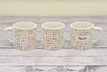 "Load image into Gallery viewer, ""God has great plans for you"" child's mug (with personalised option)"
