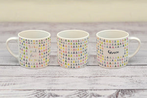 """God has great plans for you"" child's mug (with personalised option)"