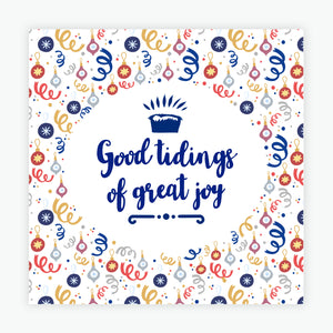 """Good Tidings of Great Joy"" Christmas cards  - 10 Pack"