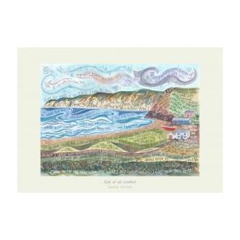 'God of All Comfort' by Hannah Dunnett - Greeting Card