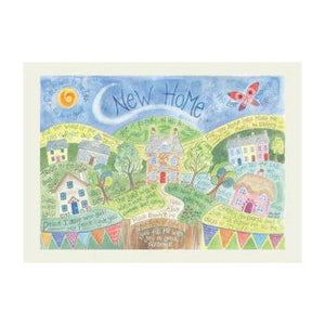 'New Home' by Hannah Dunnett - Greeting Card
