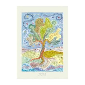 'Proverbs 3' by Hannah Dunnett - Greeting Card