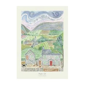 'Psalm 121' by Hannah Dunnett - Greeting Card