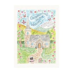 'Wedding' by Hannah Dunnett - Greeting Card