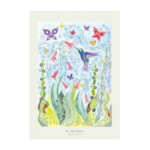 'Do Not Worry' by Hannah Dunnett - Greeting Card