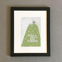 Load image into Gallery viewer, 'As for Me and My House' (Hill) by Emily Burger - Framed Print