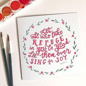 'Refuge in You' by Helen Stark - Greeting Card