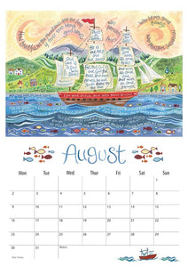 Hannah Dunnett 2021 Calendar - A3 (Display Copy)
