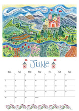 Load image into Gallery viewer, Hannah Dunnett 2021 Calendar - A3