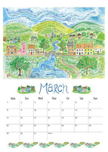 Load image into Gallery viewer, Hannah Dunnett 2021 Calendar - A3 (Display Copy)