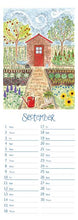 Load image into Gallery viewer, Hannah Dunnett 2021 Calendar - slimline
