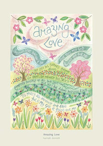 'Amazing Love' by Hannah Dunnett - Greeting Card
