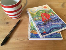 Load image into Gallery viewer, 'Bless you and keep you' by Hannah Dunnett - A5 Chunky Notebook