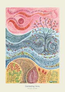 'Everlasting Love' by Hannah Dunnett - Greeting Card