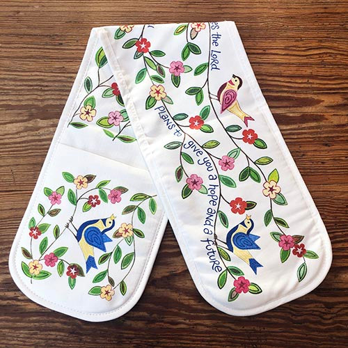 Hope and a Future Oven Gloves