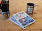 'Light of the World' by Hannah Dunnett - A5 Chunky Notebook