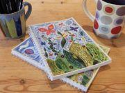 Load image into Gallery viewer, 'Great Delight' by Hannah Dunnett - A5 Chunky Notebook