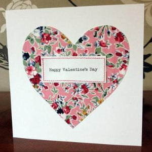 Heart Valentine Card by Bethan Walker