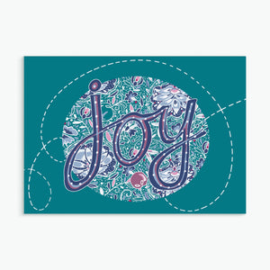 """Joy""  greeting card by Emily Kelly"