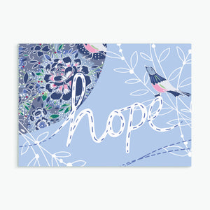 """Hope""  greeting card by Emily Kelly"