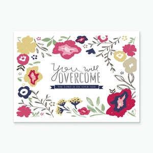 'You Will Overcome' by Emily Burger - Greeting Card