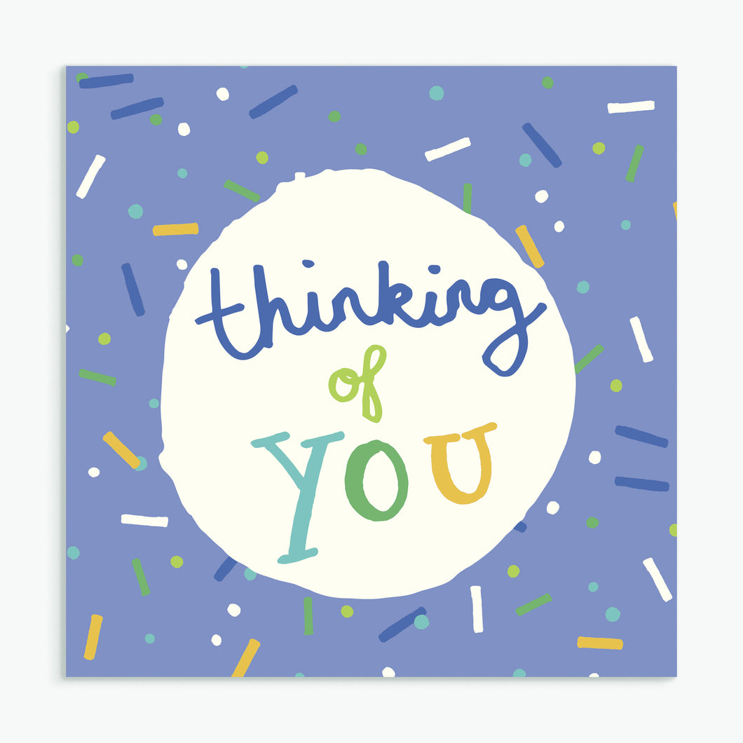 'Thinking of You' Greeting Card & Envelope