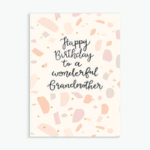 Load image into Gallery viewer, 'Wonderful Grandmother' Birthday Card & Envelope
