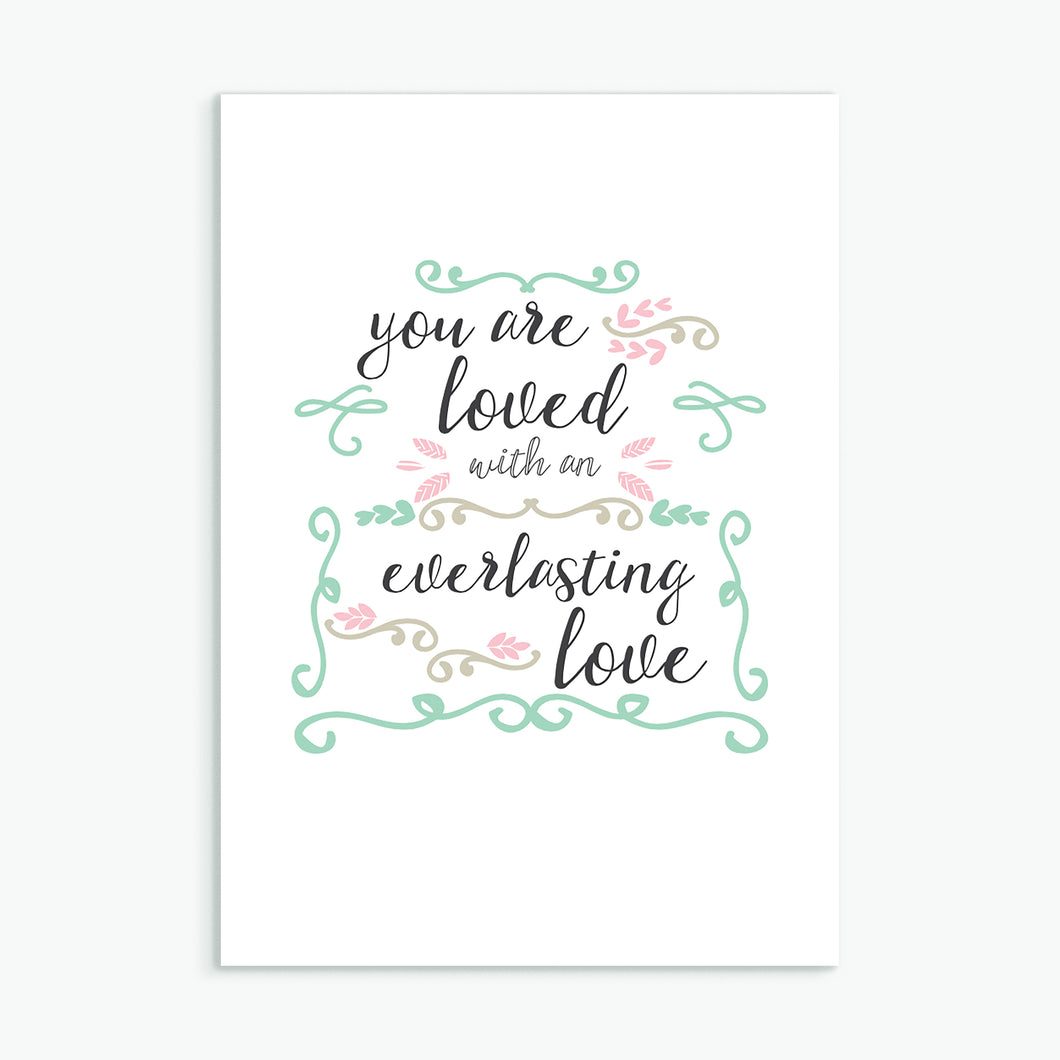 'Everlasting Love' by Preditos - Greeting Card