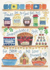 'Indescribable Gift' by Hannah Dunnett - Greeting Card