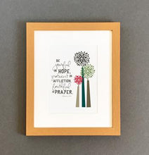 Load image into Gallery viewer, 'Joyful' by Emily Burger - Framed Print