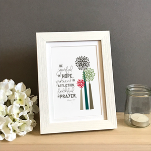 'Joyful' by Emily Burger - Framed Print