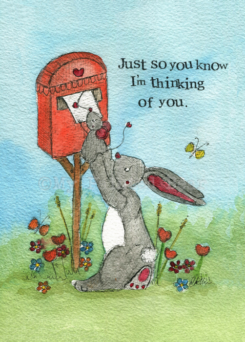 Just So You Know - greeting card