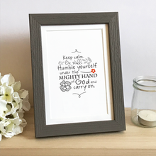 Load image into Gallery viewer, 'Keep Calm' by Emily Burger - Framed Print