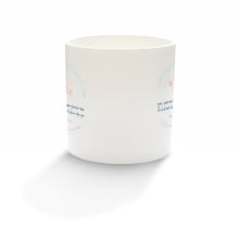 "Load image into Gallery viewer, ""The Lord bless you and keep you"" fine bone china mug"