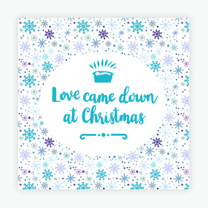 """Love Came Down"" Christmas cards  - 10 Pack"
