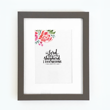 Load image into Gallery viewer, 'The Lord is My Shepherd' by Emily Burger - Framed Print